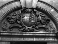 Coat Of Arms over the old entrance subway which still exists